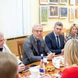Вячеслав Фетисов посетил Подольск