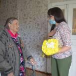 Виктория Костенко поздравила ветерана из Екатериновки с юбилеем