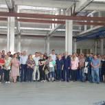Леонид Пронин посетил козловский завод спецтехники ООО «Автофургон», который в этом году отмечает 90-летие