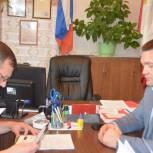 Андрей Воробьев подал документы на участие в выборах депутатов Государственной Думы
