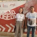 62 волонтёра работают на выставке «Поезд Победы» в Ижевске