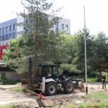 Благоустройство парка советско-польского братства по оружию поручено завершить к Дню города
