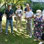 Владимир Шапкин встретился с жителями микрорайона Новый Свет в Балашихе