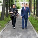Депутат Законодательного Собрания региона Валерий Савельев помог благоустроить Уктусский пансионат