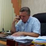 Николай Котов провел прием граждан в дистанционном формате