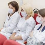 Линара Самединова встретилась с коллективом Электростальской больницы