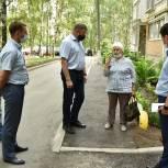 Во всех районах Рязани ведутся работы по ремонту территорий