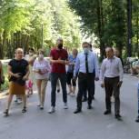 В Центральном парке культуры и отдыха завершились работы по благоустройству