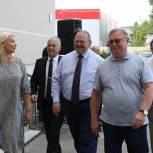 Валерий Лидин вместе с руководителями госкорпорации – Фонда содействия реформированию ЖКХ посетил Кузнецк