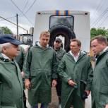 Сочинские депутаты-единороссы осмотрели подтопленную территорию возле реки Кудепста