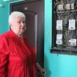 Ветерану из Мурманска отремонтировали электрощиток