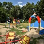 В Рязани благоустроили детскую площадку на проезде Речников