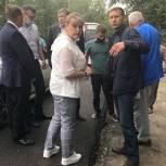 «Дорожный контроль» проверил ремонт автомагистралей в Первомайском районе