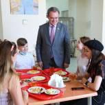 В столовой Законодательного Собрания Пензенской области организованы бесплатные обеды для волонтеров