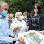 Владимир Шапкин встретился с инициативной группой жителей микрорайона Новый Свет в Балашихе