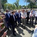 Андрей Турчак: Жители Барнаула выберут место для установки стелы «Город трудовой доблести»
