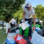 Волонтеры продолжают оказывать помощь жителям, пострадавших от наводнения