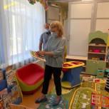 Тамара Фролова посетила новый детский сад в Притамбовье