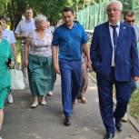 Одинцовские волонтеры взяли на контроль состояние спортивной площадки в Захаровском