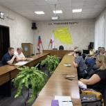 Депутат Воробьев обсудил с главами сельских поселений подходы к финансированию ремонта внутрипоселковых дорог