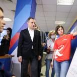 Игорь Брынцалов пообщался с волонтерами Единого центра сбора инициатив в программу «Подмосковье - территория перемен»