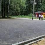 В ЦПКиО обустраивают площадку для занятий воркаутом и паркуром