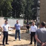 Игорь Мурог посетил детский сад №99 в Рязани