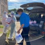 В Иркутской области медиков и пациентов «красных» зон обеспечили питьевой водой