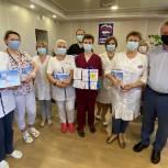В Орехово-Зуевском округе депутат-единоросс приобрел для нужд больницы компрессионные аппараты для ингаляции