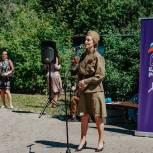 На территории «Химкинского Арбата» состоялась тематическая агитпрограмма «Памяти верны»