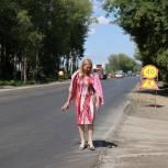 В Рязани ремонтируют участок Ряжского шоссе