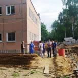 В ноябре завершится строительство пристройки к детскому саду № 136 в Рязани