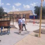 Очир Очиров провел мониторинг объектов проекта «Городская среда»