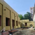 Строительство пристройки к детскому саду на улице Гоголя в Рязани идет с отставанием от графика