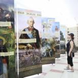 """В Тбилисском районе проходит выставка """"Небесные покровители земного воинства"""""""