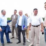 Воскресенские единороссы проверили завершение работ на Афанасьевском мосту