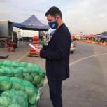 «Народный контроль» провел выезд на самый крупный оптовый рынок плодоовощной продукции в регионе