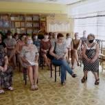 Ирина Слуцкая рассказала пушкинцам о «Сотне главных дел» «Единой России»