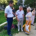 Николай Лукьянов встретился с жителями улицы Бородина