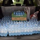 В Мурманске волонтеры обеспечивают питьевой водой лечебные учреждения