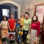 Юлия Литневская поздравила многодетные семьи Заводского района с Днём семьи, любви и верности