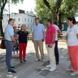 Срок сдачи работ в Верхнем городком парке в Рязани перенесли на конец августа