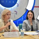 Буцкая и Баталина дали разъяснения по новым мерам поддержки семей с детьми