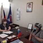Депутат Эльмира Абиева рассмотрела обращения граждан в приемной «Единой России»