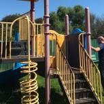 Луховицкие активисты партийного проекта «Городская среда» проверили состояние детских площадок