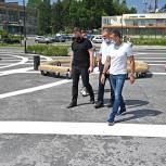 Депутаты-единороссы отреагировали на проблему безопасности движения на площади в Пересвете
