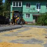 В Касторенском районе единороссы держат на контроле процесс благоустройства