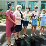 При поддержке Ольги Болякиной благоустроен школьный двор в Балакове