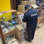 Активисты «Народного контроля» с участковыми уполномоченными первоуральской полиции проверили несколько торговых точек