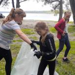 В Новосибирской области при содействии сторонников «Единой России» прошли экологические акции